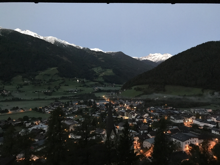 frühmorgens in Matrei