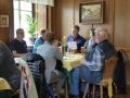 Mittagessen im Restaurant Burg Heimfels