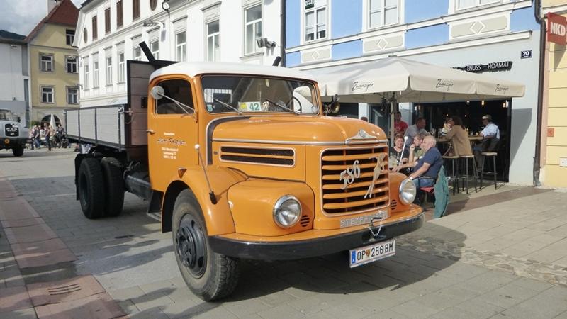 Steyr 586 BJ 1966