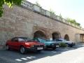 Parkplatz vor Schloss Valtice