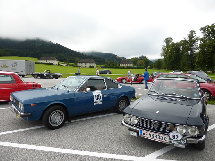 Start in Admont am 2. Tag