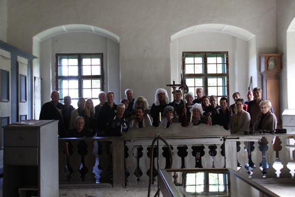 Gerichtsverhandlung in Burg Greillenstein
