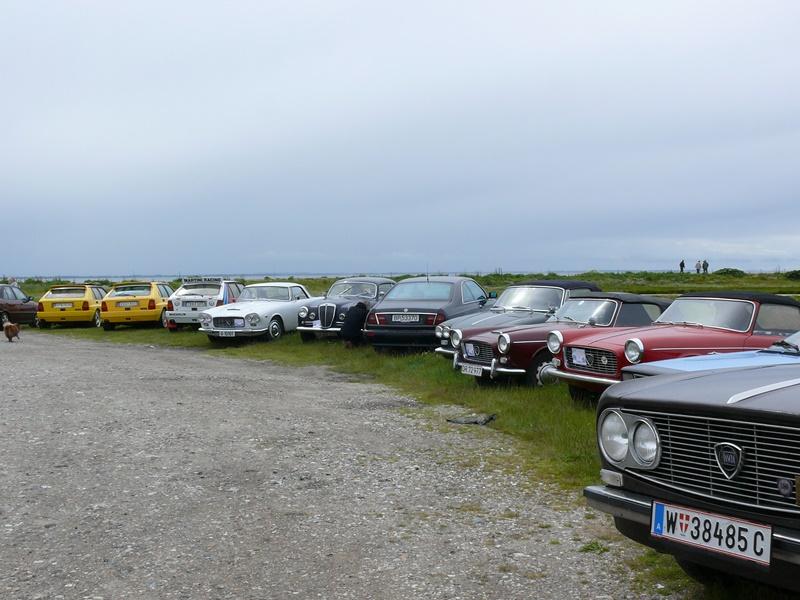 Lancia Treffen Dänemark 2010