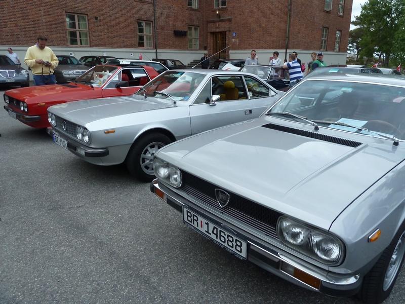 Lancia Treffen Norwegen 2012