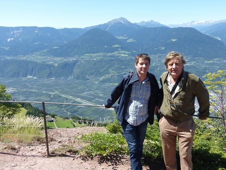 Mit der Thesis durch Südtirol