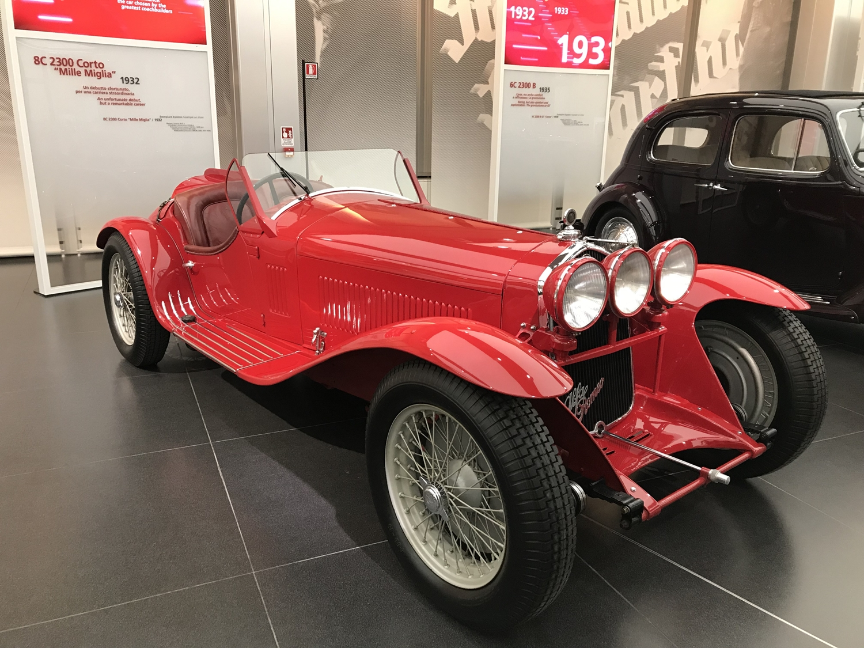 8C 2300 Corto Mille Miglia