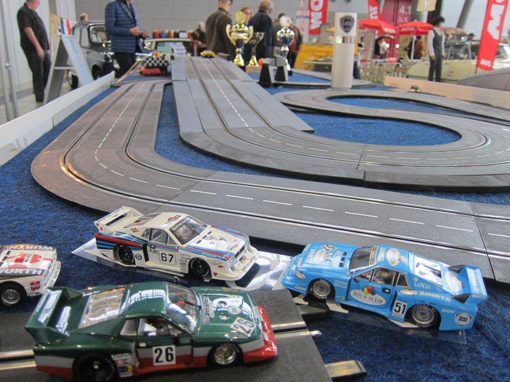 Auf dem Clubstand des Lancia Clubs Deutschland