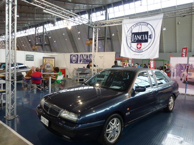Clubstand des schweizer Lancia Clubs