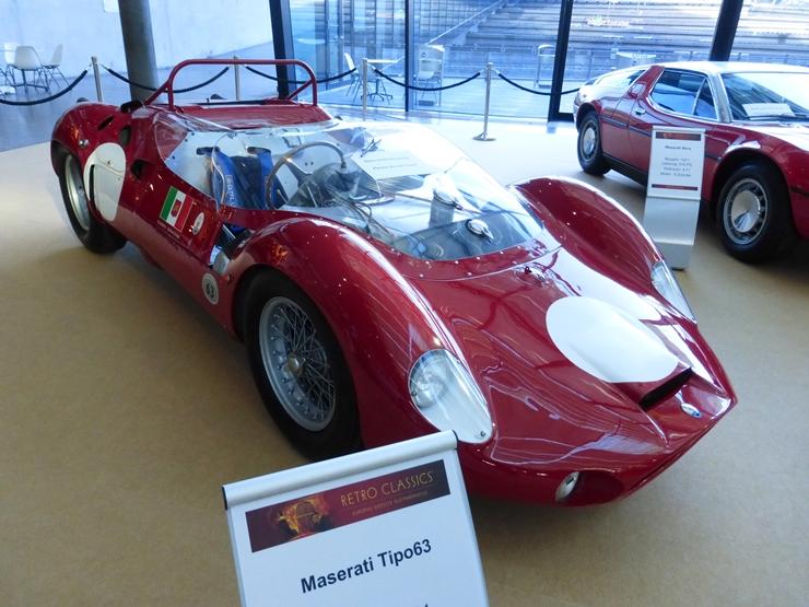 Maserati V12 Tipo 63