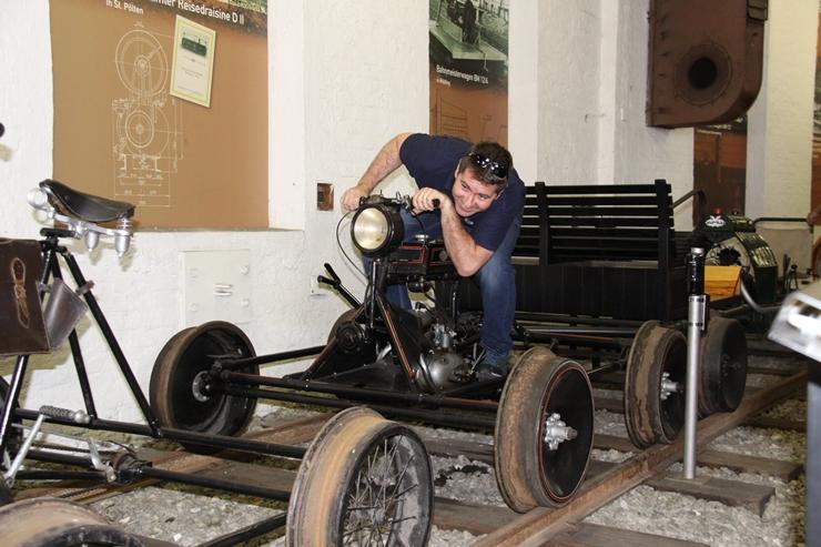 im Südbahnmuseum