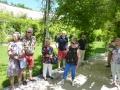 Rundgang im Meditationsgarten  der Kartause Aggsbach