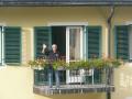 Franz am Balkon