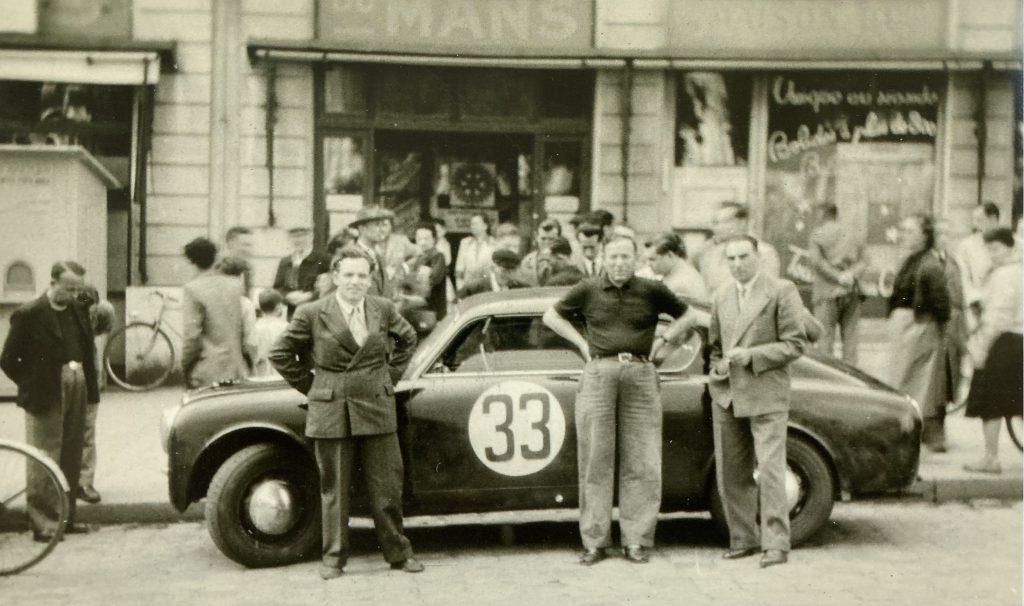 Lancia Mechaniker Brandoni, Ferraris und Daniele