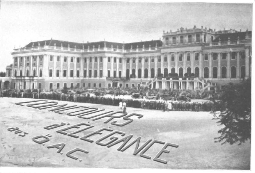 Concours d'elegance 1928