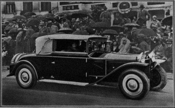 Die Lancia Armbruster der Gräfin Maria Wenkheim