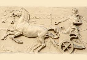 Ein bis heute noch erhaltenes Relief
